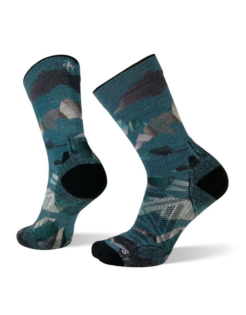 Smartwool PhD Outdoor Light Mountain Camo Print