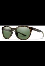Smith Optics Smith Eastbank Sunglasses Vintage Tort Frame ChromaPop Polarized Gray Green Lens