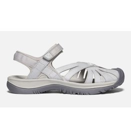 Keen Footwear Womens Rose Sandal Light Grey/Silver