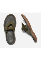 Keen Footwear Mens Solr Toe Post Dark Olive