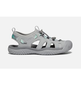 Keen Footwear Womens Solr Sandal Light Grey/Ocean Wave