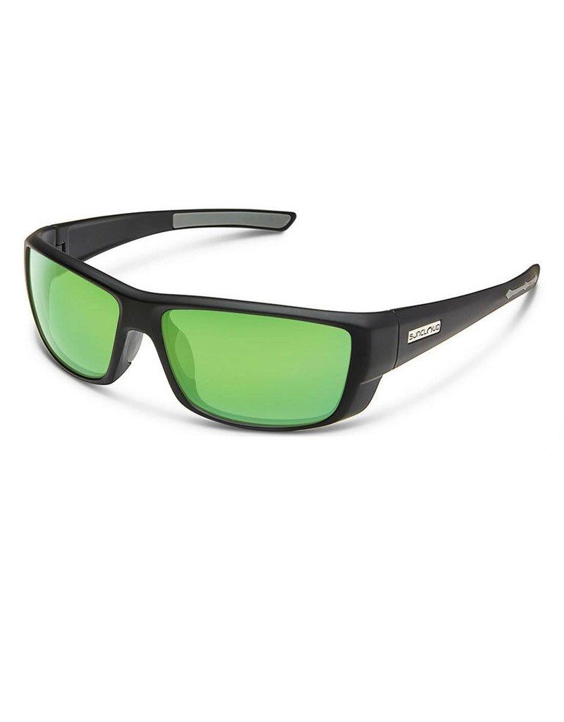SunCloud LOCK MATTE BLACK-GREEN MIRROR