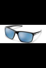 SunCloud RESPEK MATTE BLACK FRAME-BLUE MIRROR LENS
