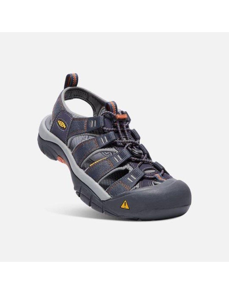 Keen Footwear MENS NEWPORT H2 INDIA INK / RUST SANDAL