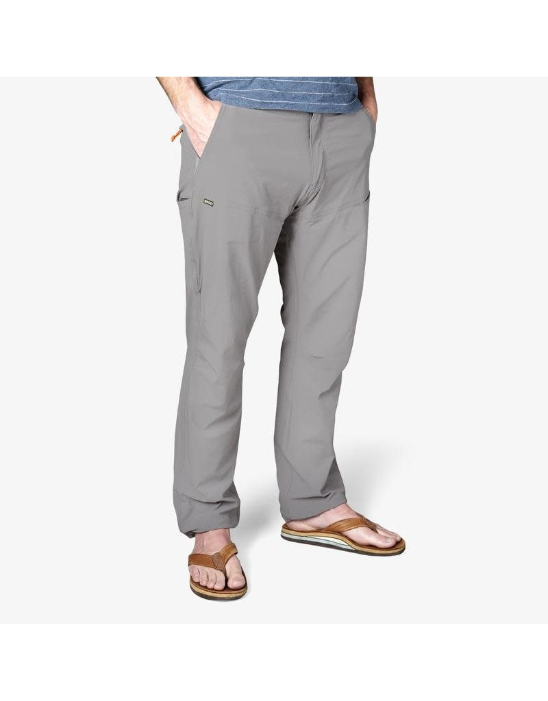 "Shoalwater Tech Pant Light Grey 32"" Inseam"