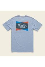 Howler Shapes Pocket T Blue Heather