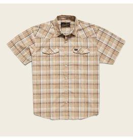 H Bar B Snapshirt - Brooks Plaid Fawn Tan