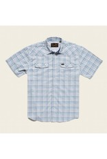 H Bar B Tech Shirt - Bolan Plaid Mystic Blue