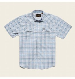 H Bar B Tech Shirt - Bolan Plaid Mystic Blue