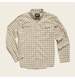 Matagorda Shirt - Peninsula Plaid Quill Green