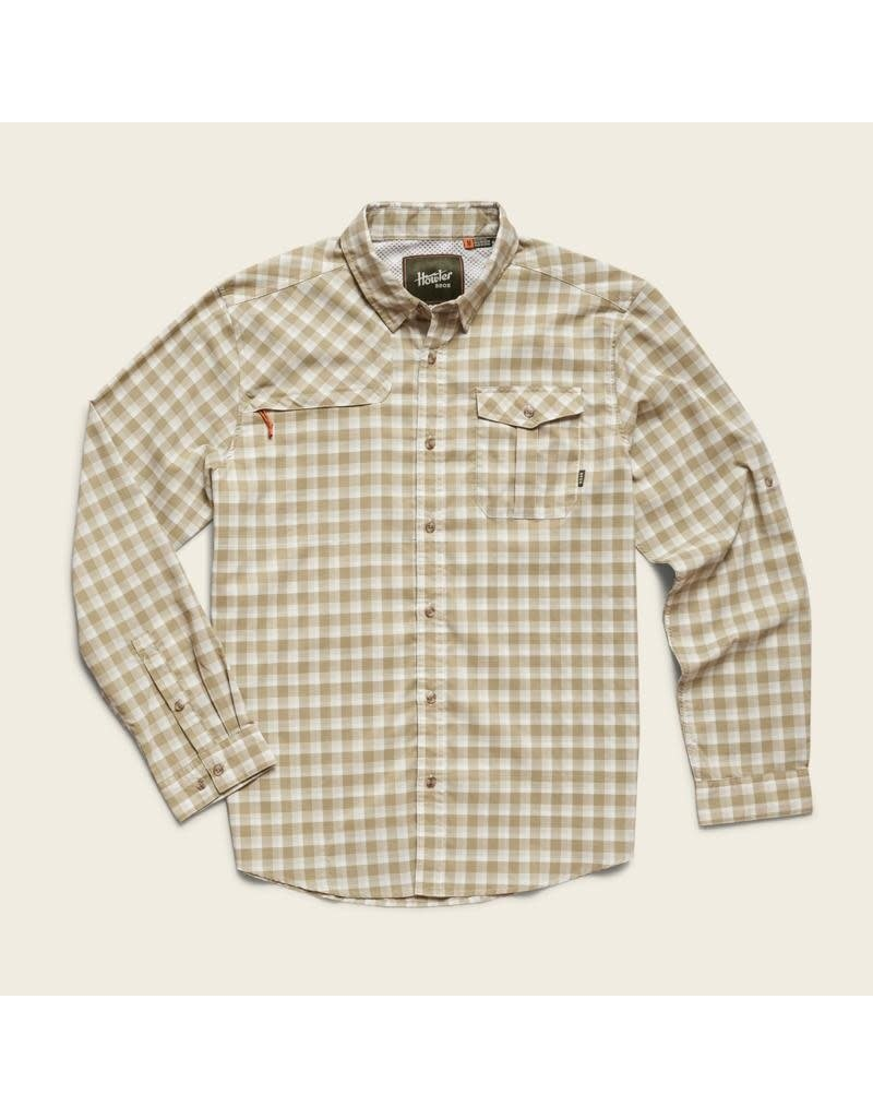 Matagorda Shirt - Peninsula Plaid Quill Green