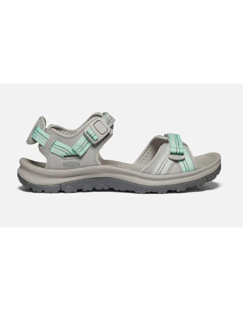 Keen Footwear Womens Terradora ll Open Toe Sandal Light Grey
