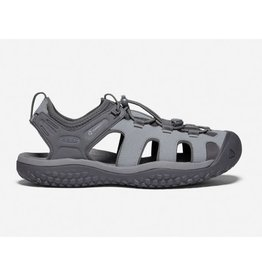 Keen Footwear Mens Solr Sandal Steel Grey/Magnet