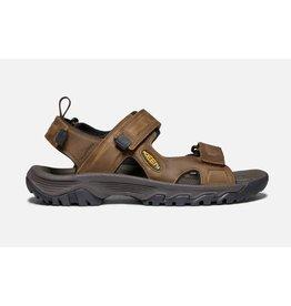 Keen Footwear Mens Targhee lll Open Toe Sandal Bison/Mulc