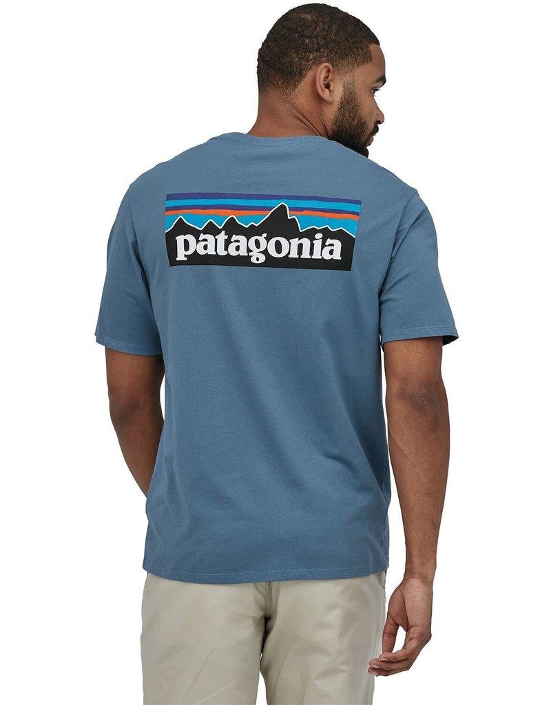 Patagonia Mens P-6 Logo Organic T-Shirt
