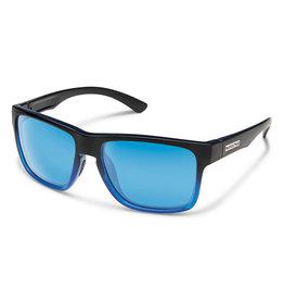 Suncloud Rambler Black/Blue Frame Blue Mirror