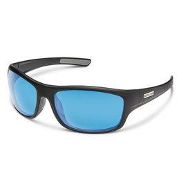 Suncloud Cover Matte Black Blue Mirror
