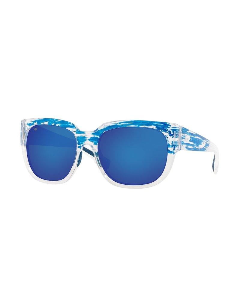 Costa Del Mar Waterwoman 2  American Sky Blue Mirror 580G