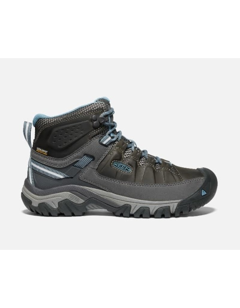 Keen Footwear Womens Targhee lll Mid WP Magnet/Atlantic Blue