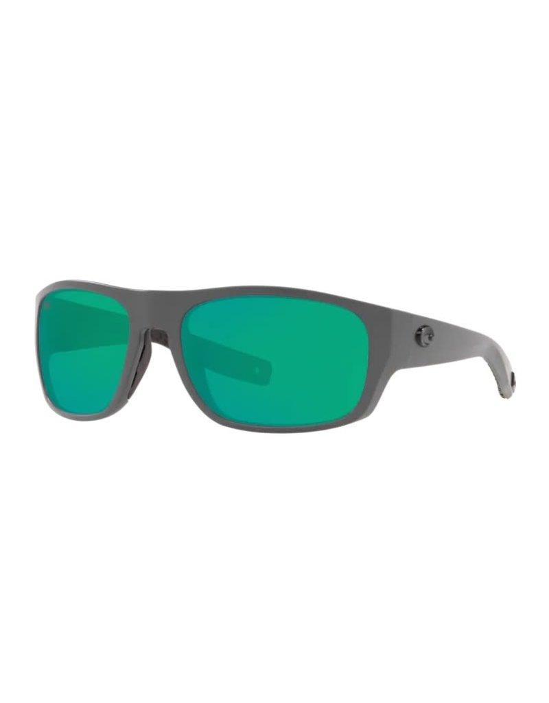 Costa Del Mar Tico Matte Gray  Green Mirror 580G