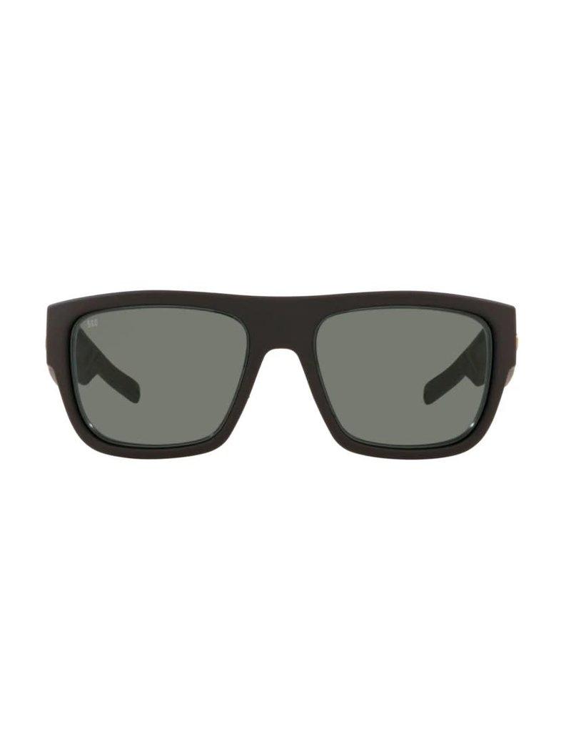 Costa Del Mar Sampan Matte Black Ultra Gray 580G