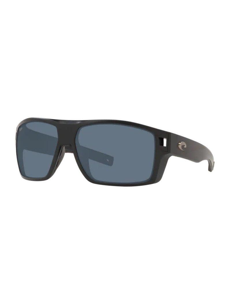 Costa Del Mar Diego Matte Black Gray 580P