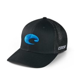 Costa Del Mar Flexfit Logo Trucker Hat