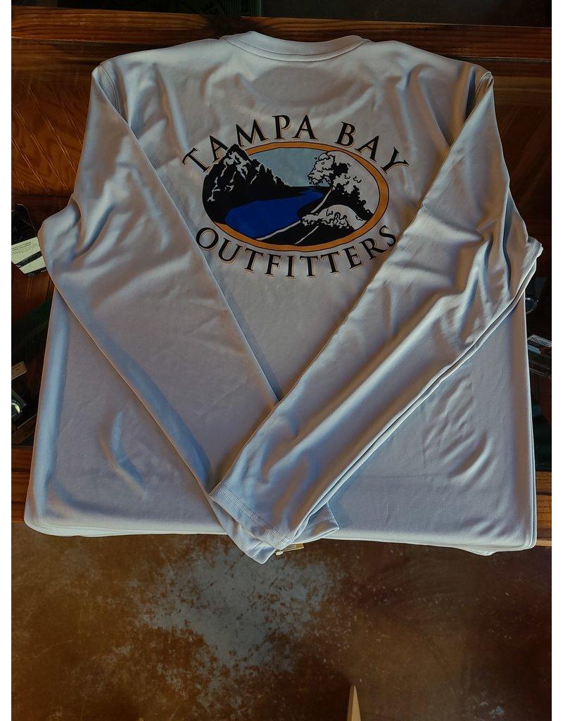 Tampa Bay Outfitters Tampa Bay Outfitters  Long Sleeve Tech Crew  Lt Grey