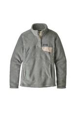 Patagonia Womens Re-Tool Snap-T P/O Tailored Grey - Nickel X-Dye w/Calcium
