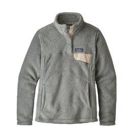Patagonia Womens Re-Tool Snap-T P/O Tailored Grey - Nickel X-Dye w/Calcium