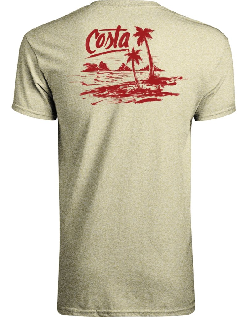 Costa Del Mar Beachside Logo T-Shirt
