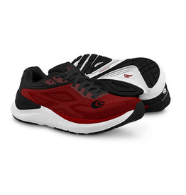 Topo Athletic Mens Ultrafly 3 Red/Black