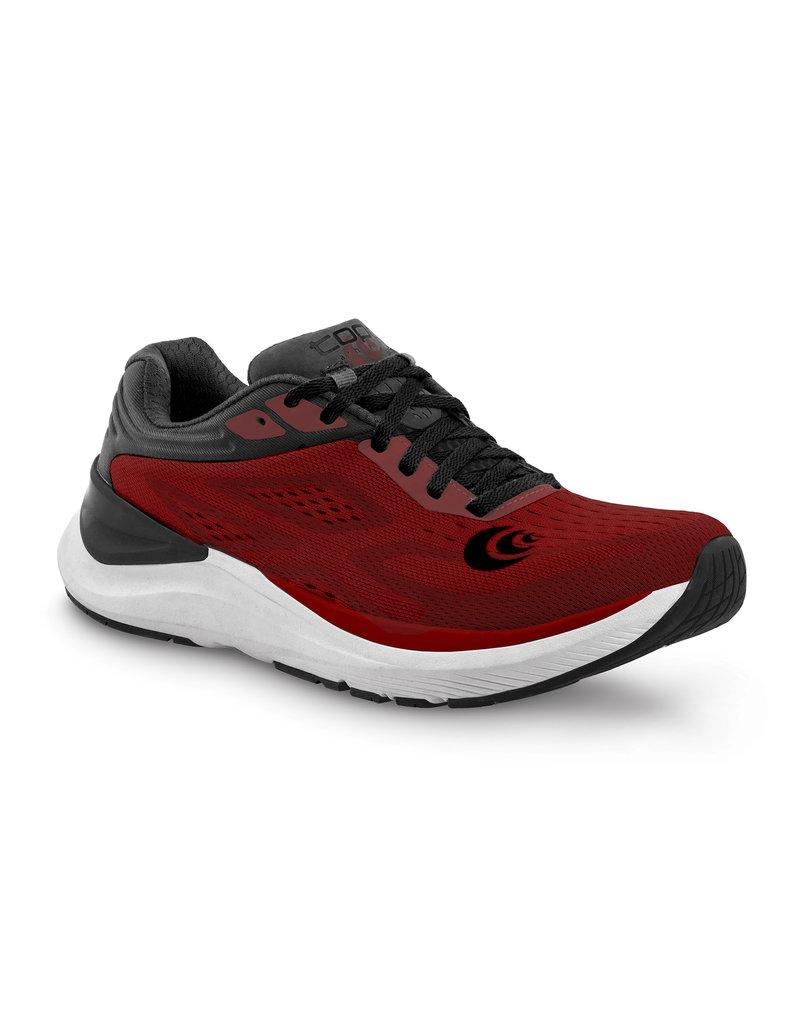 Topo Athletic Mens Ultrafly 3 Red/Black