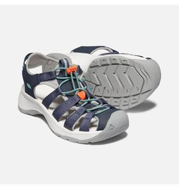 Keen Footwear Womens Astoria West Sandal Navy/Beveled Glass