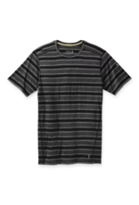 Smartwool Mens Merino 150 Baselayer Short Sleeve BLACK STRIPE