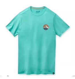 Smartwool Mens Merino Sport 150 Two Peaks Graphic Tee