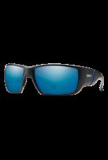 Smith Optics TRANSFER XL (NEW) MATTE BLACK POLARIZED BLUE MIRROR/CHROMAPOP POLARIZED
