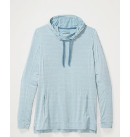Exofficio Womens Sol Cool Kaliani LS BLUE STAR HEATHER