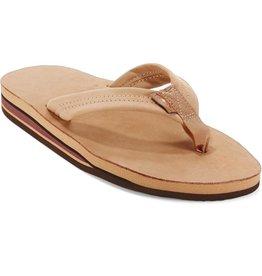 Rainbow Sandals Mens Premier Leather Double Flip Sierra Brown