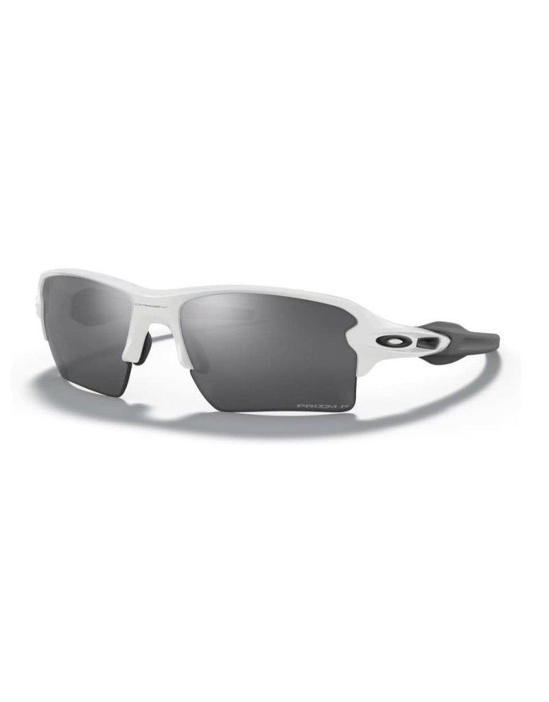 Oakley Flak 2.0 XL Polished White Prizm Black Polarized
