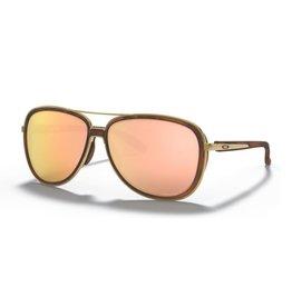 Oakley Split Time Brown Tort/Gold Prism Rose Gold Polarized