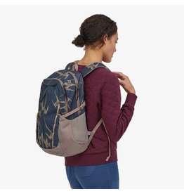 Patagonia Womens Refugio Pack 26L Tropi Birds: Tidepool Blue