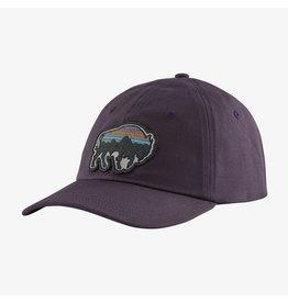 Patagonia Back for Good Trad Cap Piton Purple W/Bison
