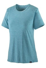 Patagonia Womens Cap Cool Daily Shirt Iggy Blue