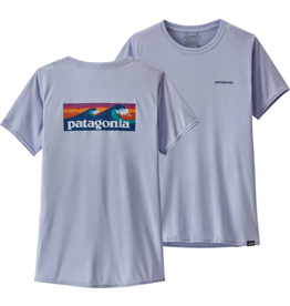 Patagonia Womens Cap Cool Daily Graphic Shirt Boardshort Logo