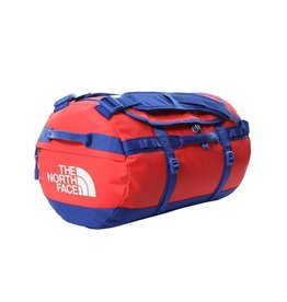 The North Face Base Camp Duffel S Horizon Red/TNF Blue OS