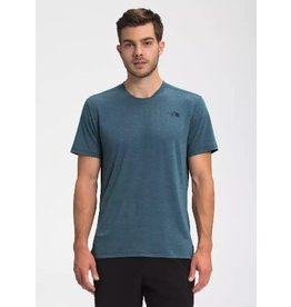 The North Face Mens Wander S/S Monterey Blue Heather