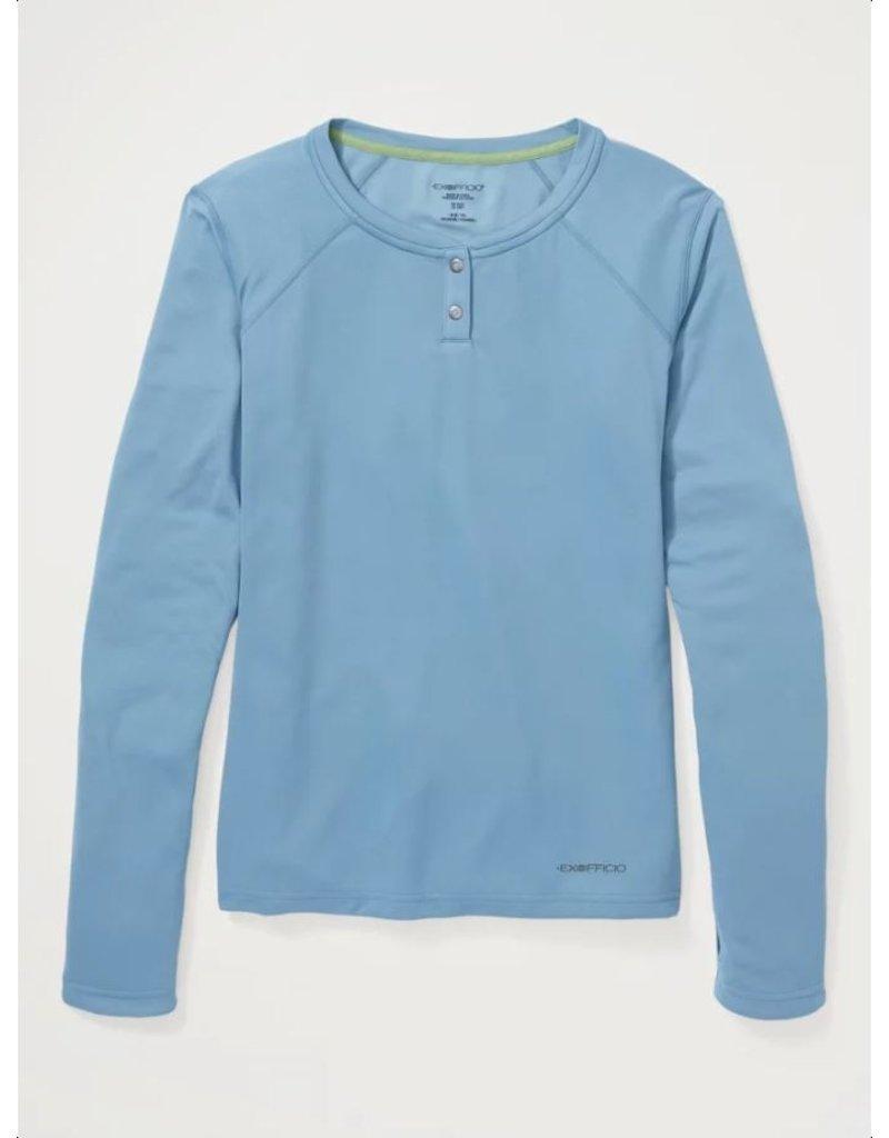 Exofficio Women's Hyalite L/S Henley Shirt