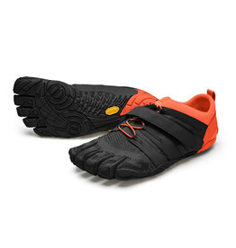 Vibram Mens V-Train 2.0 Black/Orange