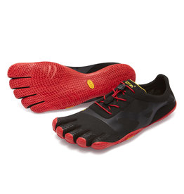 Vibram Mens KSO EVO  Black/Red